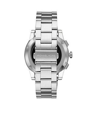 2be8881a3897 ... Michael Kors Access Mens Grayson Stainless-Steel Touchscreen Smartwatch  ...