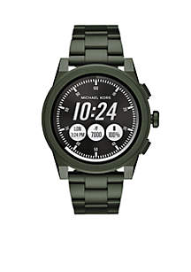 Stainless Steel Access Grayson IP Touchscreen Smartwatch