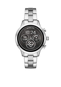 Silver Runway Bracelet Digital Display Watch
