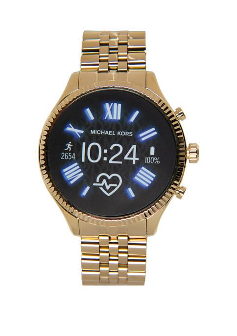 Michael Kors Womens Gold Lexington 2.0 Watch