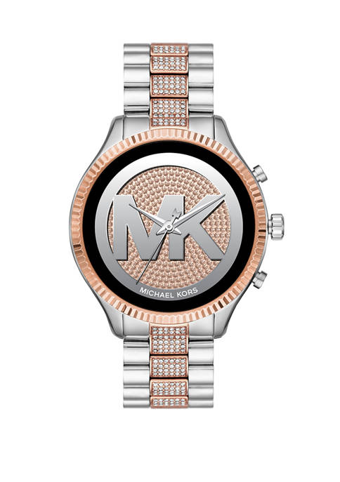 Michael Kors Touchscreen Smartwatch-Lexington Two-Tone Stainless