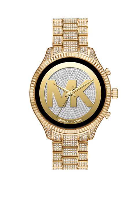 Michael Kors Touchscreen Smartwatch-Lexington Gold-Tone Stainless