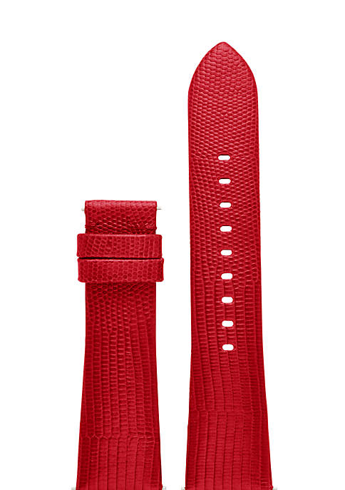 Connected Womens Bradshaw Red Embossed Strap