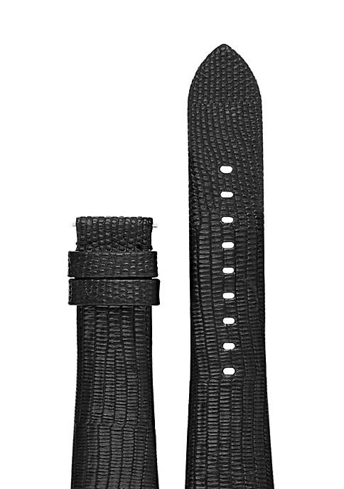 Connected Womens Bradshaw Black Embossed Strap
