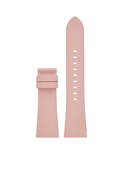 Michael Kors Connected Womens Bradshaw Smooth Blush Leather