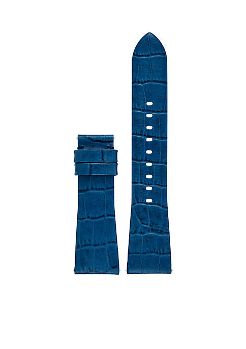 Connected Womens Bradshaw Navy Leather Strap
