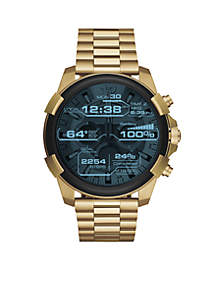 Diesel Men's Gold-Tone Diesel On Full Guard Touchscreen Smartwatch