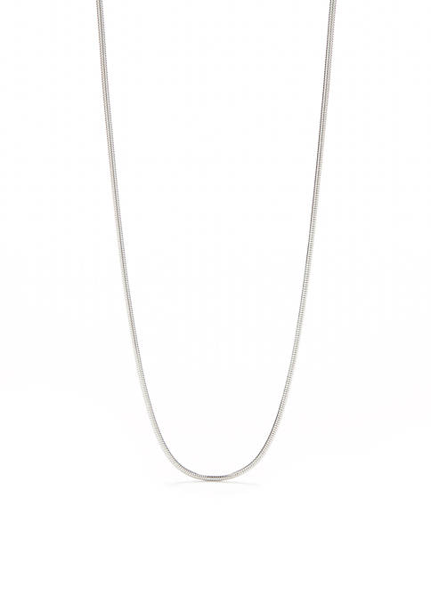 Silver-Tone Mix n Match Chain Necklace