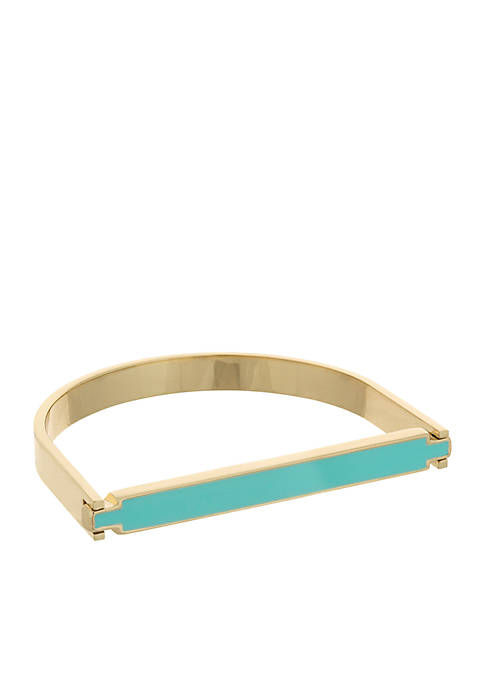 Laundry by Shelli Segal Color Hinge Bangle Bracelet