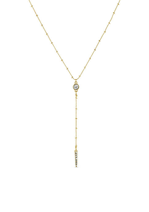 Laundry by Shelli Segal Pave Beaded Chain Y