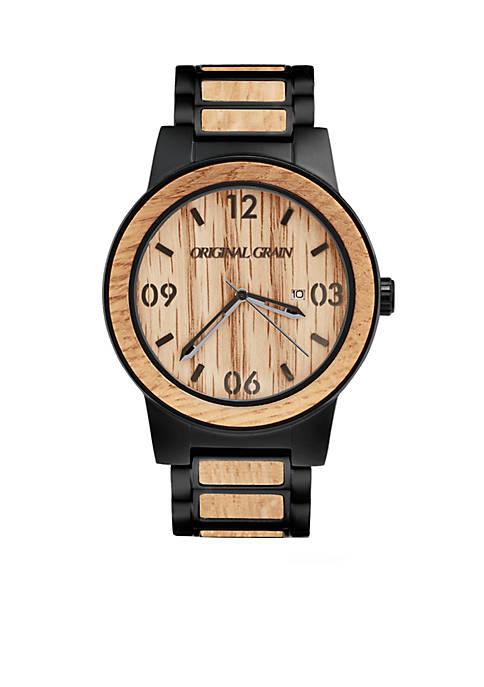 Matte Black Stainless Steel Watch