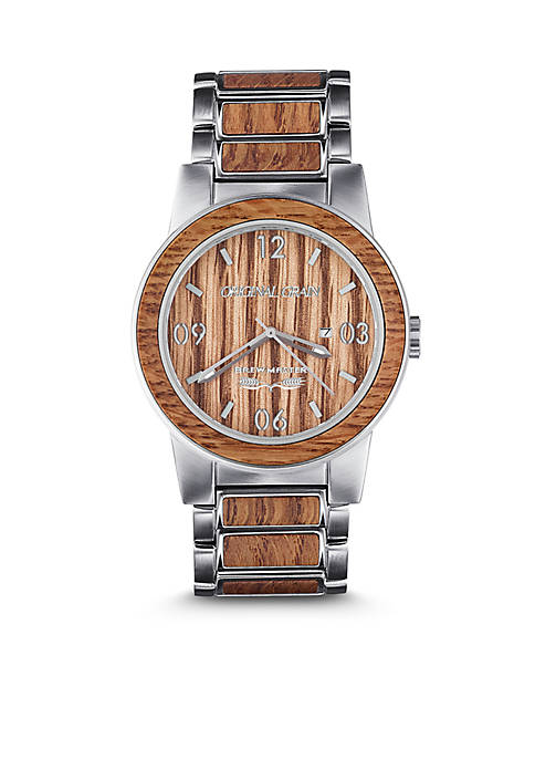 Stainless Steel Barrel Brewmaster 42 mm Watch