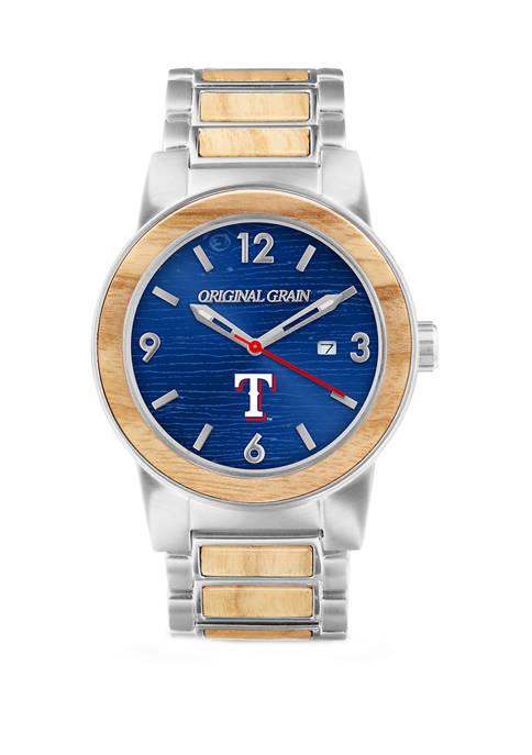 Texas Rangers Baseball Bat Watch