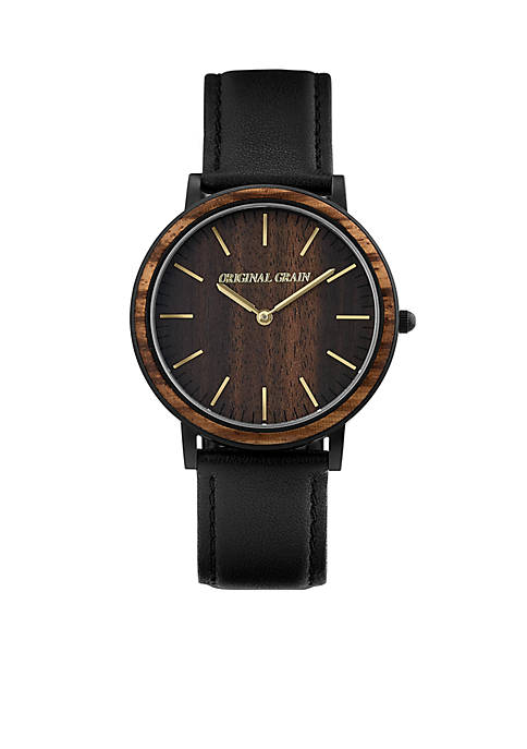 ORIGINAL GRAIN Antique Gold Stainless Steel Minimalist Watch