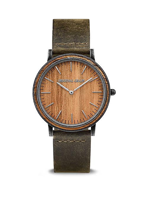 Koa Minimalist watch