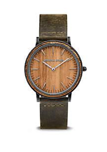 ORIGINAL GRAIN Koa Minimalist watch