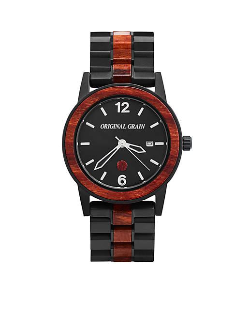 Mens Sixty40 Rosewood Black Watch