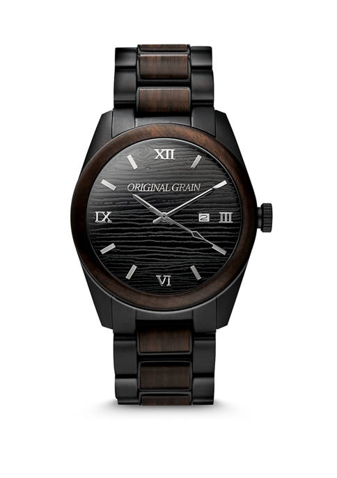 Mens 43 Millimeter Blackwood Classic Watch