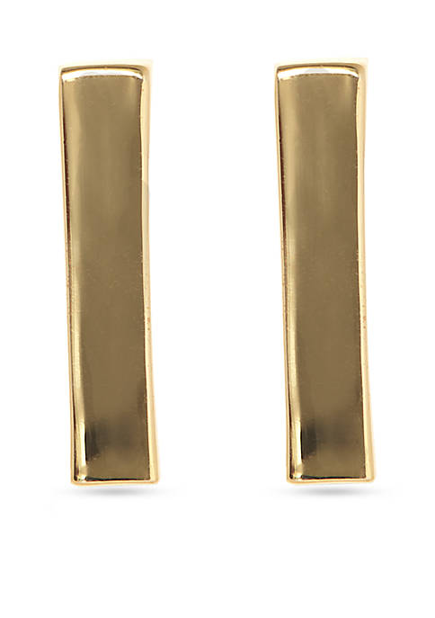 Vince Camuto Gold-Tone Metal Core Vertical Bar Linear