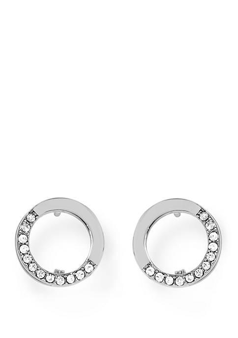 Circle Hinge Earrings