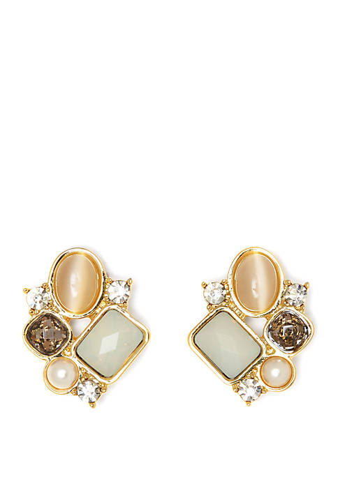 Vince Camuto Desert Oasis Cluster Stud Earrings