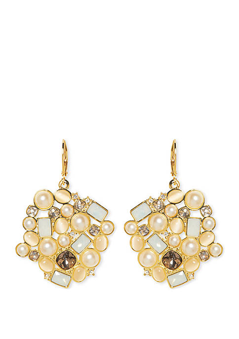 Vince Camuto Desert Oasis Cluster Earrings