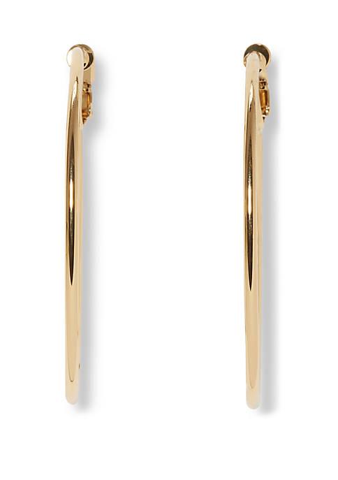 Clip Hoop Earrings