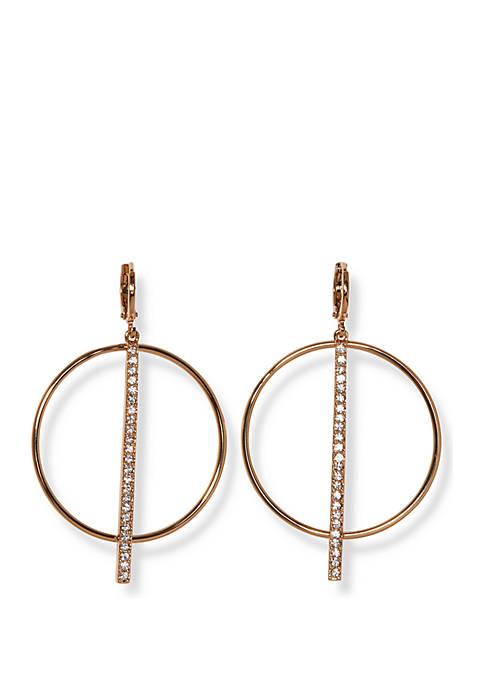 Huggie Frontal Earrings