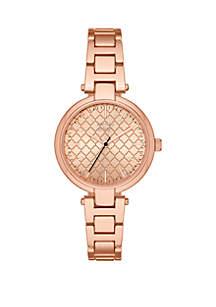 Sidra Rose Gold-Tone Watch