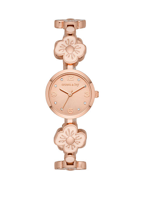 Crown & Ivy™ Tinsley Rose Gold and Blush