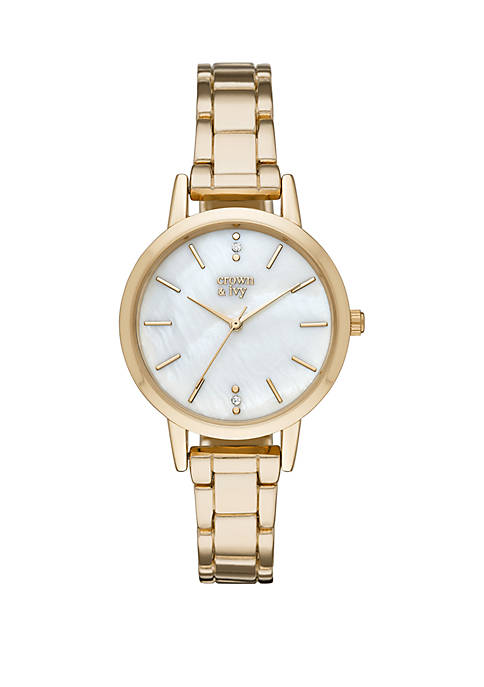 Bronwyn Bracelet with Mother Of Pearl Dial Watch