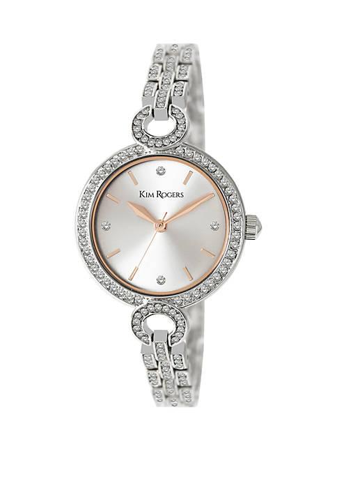 Full Crystal Bracelet Watch