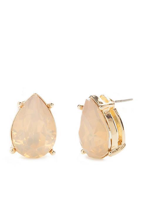 Crown & Ivy™ Gold-Tone Stud Earrings