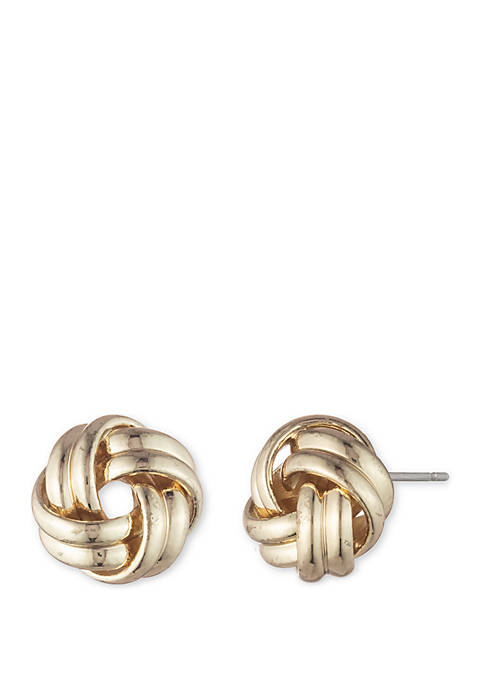 Lauren Ralph Lauren Leeds Knot Stud Earrings
