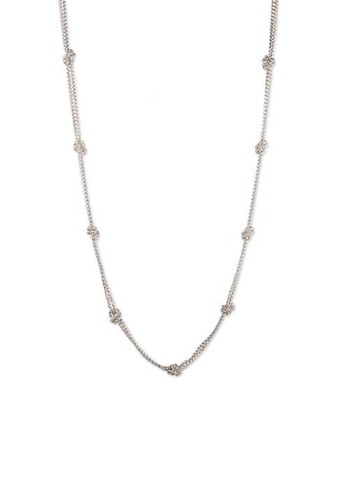 Lauren Ralph Lauren Knot Strandage Necklace
