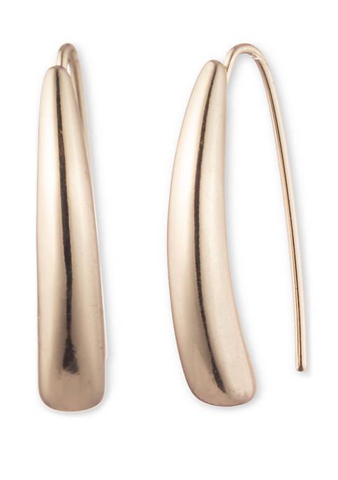 Lauren Ralph Lauren Gold-Tone Threader Earrings