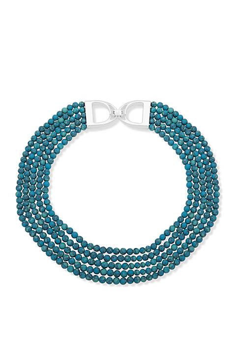 Multi Row Collar Necklace