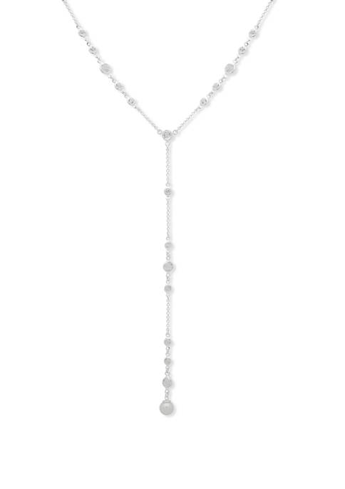 Pearl Y Neck Necklace