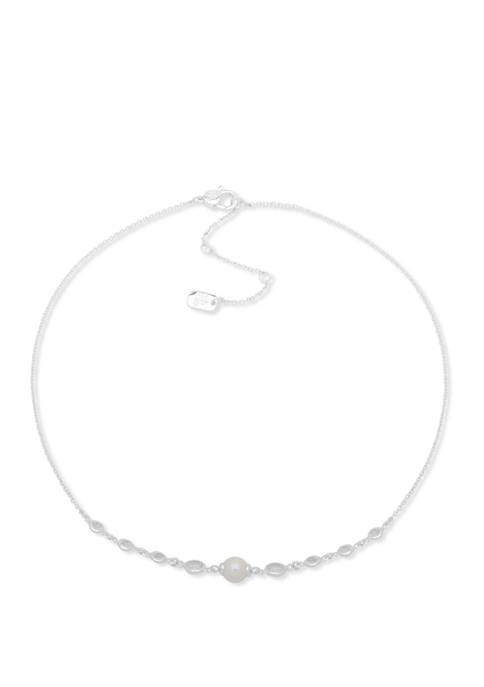 Pearl Front Necklace