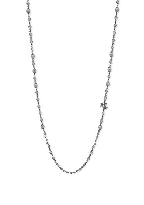 Lauren Ralph Lauren Long Pearl Necklace