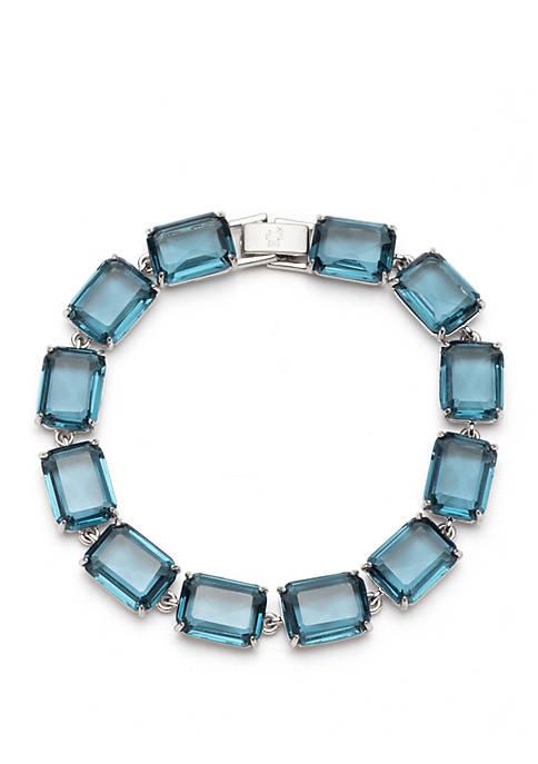 Silver Tone Flex Bracelet