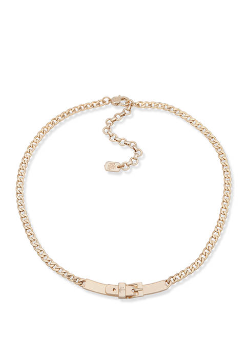 Buckle Frontal Necklace