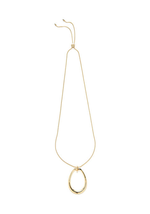 36 Inch Link Pendant Necklace
