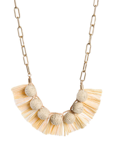 Natural Short Necklace