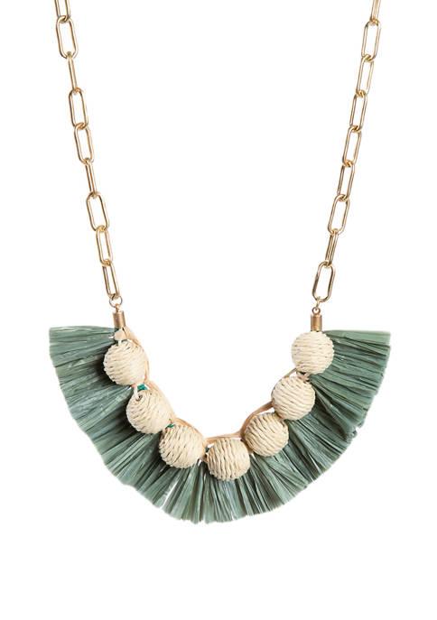 Natural Short Necklace