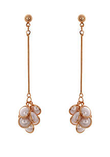 CATHERINE STEIN DESIGNS Drop Cluster Earrings