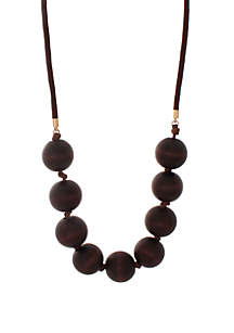 CATHERINE STEIN DESIGNS Cord Wood Necklace