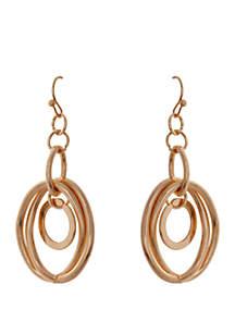 CATHERINE STEIN DESIGNS Link Drop Earrings