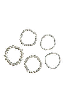 Pearl Stretch Bracelets