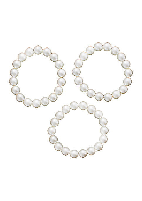 Crown & Ivy™ Stretch Pearl Bracelets